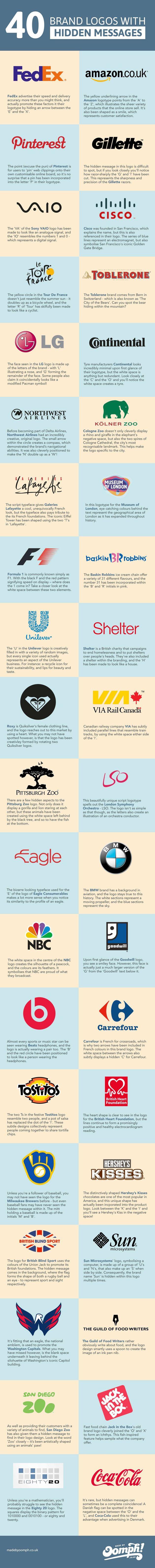 Vindingrijke logo's